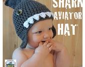 SHARK AVIATOR HAT