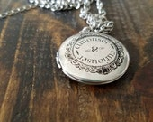 Curiouser and Curiouser Locket Necklace - 30 inch