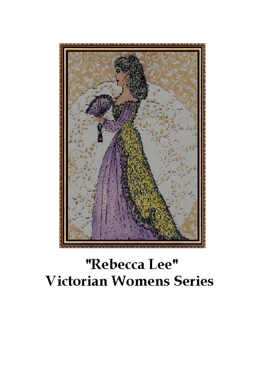 Rebecca Lee Victorian Women Series watercolor and Pen and Ink