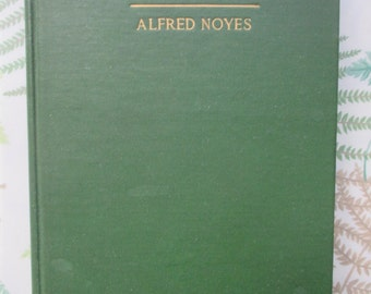 The Elfin Artist and Other Poems - Alfred Noyes - 1920 RARE