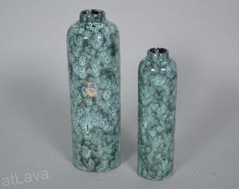 ES Keramik set of 2 bottle vases Fat Lava - Emons & Sons -  Germany