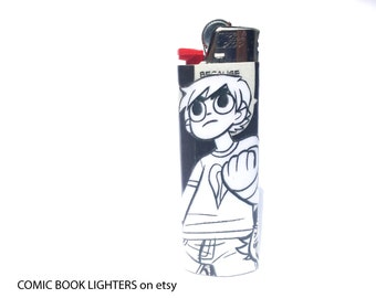 Scott Pilgrim Comic Book Lighter