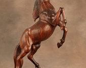 Ebony Horse Carving, Beautiful