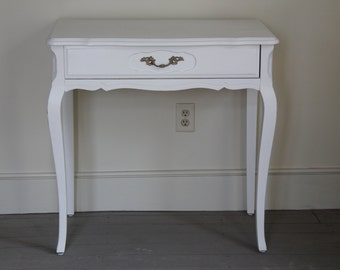 Vintage 1960's French Provincial Vanity/Writing Desk