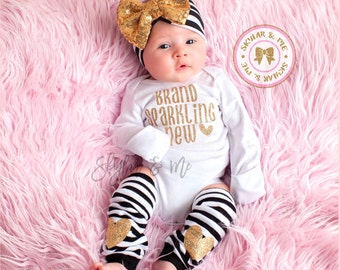 Newborn outfit, hospital outfit, coming home outfit, baby girl headband, newborn, infant girl, baby hospital outfit, hospital bow outfit