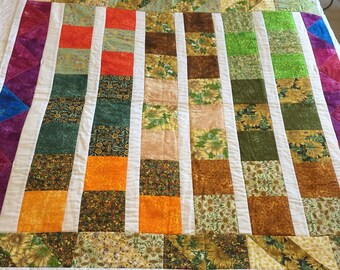 Sunny Floral Quilt