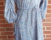 Vintage Short Sleeve Flor...