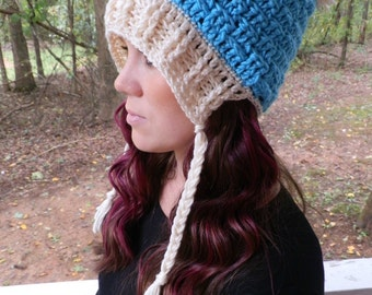 Instant Download- Crochet Pattern- Enchanted Dreams Mini Slouch