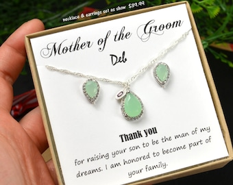 Mother in law gift , mother in law wedding gift , mother of the bride gift,mother of the groom gift ,mother daughter necklace, wedding gift