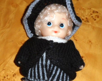 BOY DOLL in PURITAN clothes.