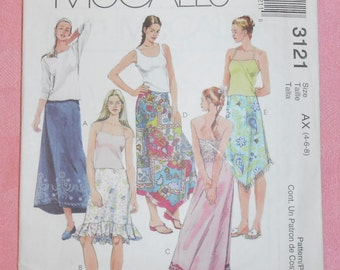 McCalls Sewing Pattern #3121- Size 4-6-8