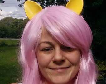 Fluttershy Wig, Pink, Pony wig, Unicorn Wig,  MLP, Costume, cosplay, Costume, Long My Little Pony, MLP, Apple Jack