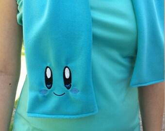 Fleece Blue Kirby Scarf