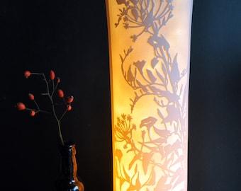 Convolvulous Porcelain Lamp