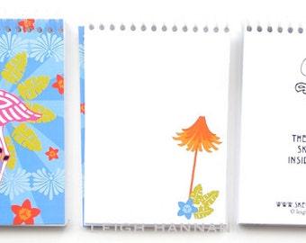 Flamingo Skelly Notebook