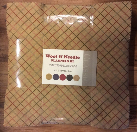 Moda Wool And Needle Flannels Layer Cake