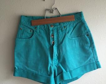 High Waisted Shorts // ZENA