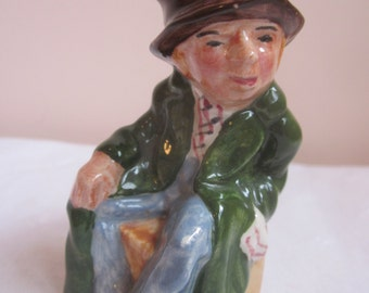 English Toby, Vintage Artone England Hand Painted Toby Jug. Character of Artful Dodger.