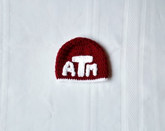 Texas A&M Aggies Beanie - Infant to Child Sizes