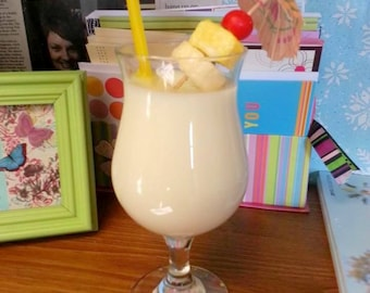Pina Colada Candle. Scented 100% Soy Wax Candle