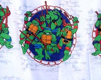 Vintage Teenage Mutant Ninja Turtles Curtains