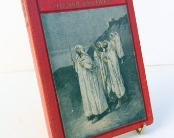The Other Wise Men Vintage 1920s Religious bible story Book Red Hardback
