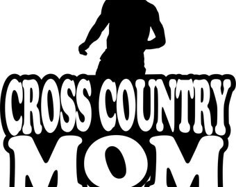 Boy Runner Cross Country Mom Short Sleeve Gildan T Shirt Many Colors