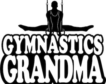 Gymnastics Grandma Hoodie/ Gymnastics Grandma Sweatshirt/ Gymnastics Grandma Gift/ Boy Gymnast Gymnastics Grandma Hoodie Sweatshirt