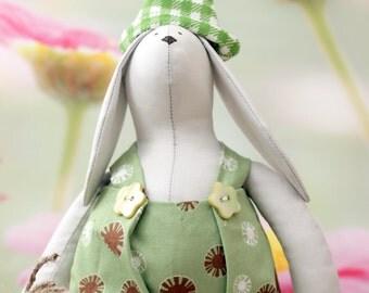 Tilda bunny rabbit with carrot