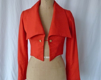 Geoffrey Beene Red recortada chaqueta