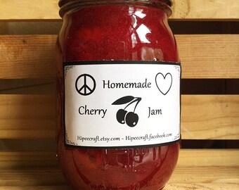 Homemade Jam Cherry Jam All Natural Jam