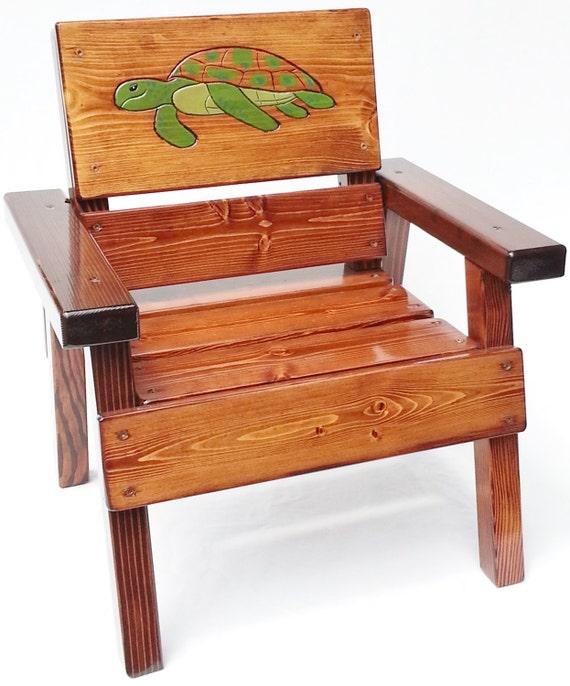 Kids Chair Childrens Outdoor Coastal Furniture Nautical