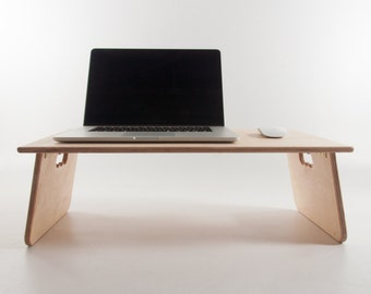 Fold Away Desk - Laptop Tablet Reading Writing Drafting - Bed Sofa Workspace