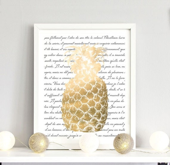 pineapple decorations for the home