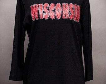 Wisconsin Rhinestone Shirt