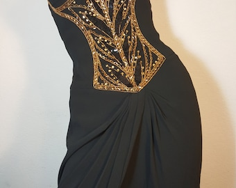 FREE  SHIPPING   Vintage Bob Mackie Dress