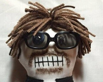 """Creepy n Cute Zombie Doll - """"Connor"""" (Sean Patrick Flanery) - Inspired by Troy Duffy's Boondock Saints (D&P)"""