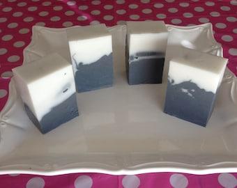 Hawaiian Lava Salt Soap - Charcoal Soap - Activated Charcoal Soap - Sea Salt Soap - Exfoliating Soap - Handmade Soap - Spa Soap