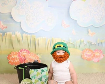Leprechaun Beard Hat | Image via Etsy