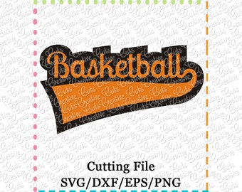 EXCLUSIVE SVG eps DXF Cutting File Basketball svg, sports svg, team svg, basketball cutting file, basketball svg, basketball cut file