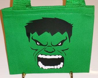 The Hulk Mini Tote Bag Gift Bag Favor Bag