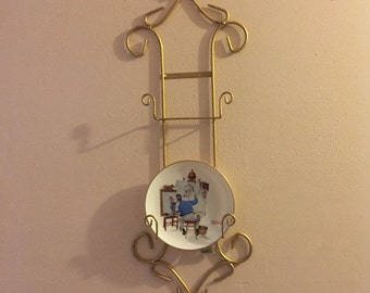 Wall Mounted Plate Rack Etsy
