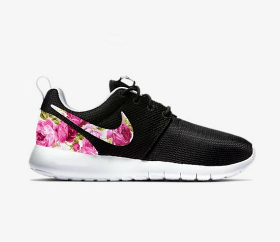 Custom Womens Flower Nike Roshe Run   The Centre for Contemporary ... 05738c7ae1