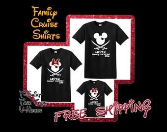 Disney Cruise Family Shirts | Disney Cruise Pirate Shirts I Disney Pirate Family Shirts