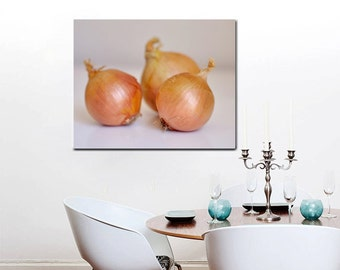 Kitchen Canvas Art Vegetable Large Wall Decor Dining Room
