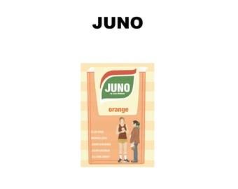 Juno Movie Print - Poster Jason Reitman A3