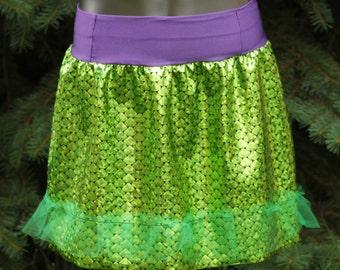 Ariel Inspired Running Skirt