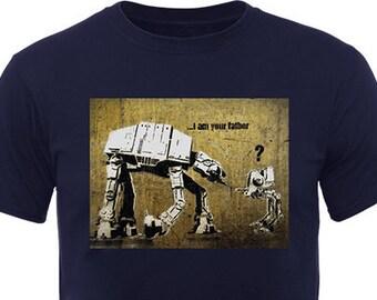 Banksy Star Wars At-At T-Shirt