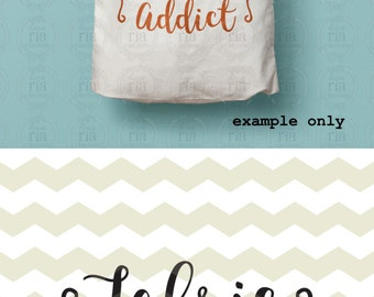 Fabric addict, fun quote quilting quilter sewing lover digital cut files, SVG, DXF, studio3 for cricut, silhouette cameo, diy vinyl decals