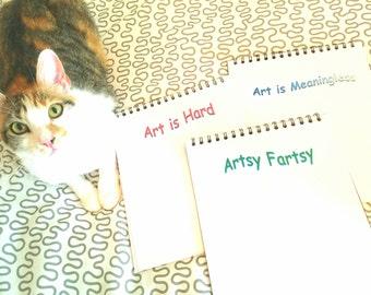 Sassy Sketchbooks